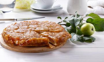 Λαχταριστή ανάποδη μηλόπιτα (vid)