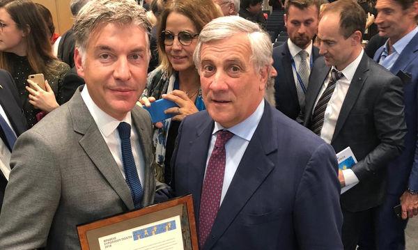 Η HOPEgenesis βραβεύθηκε με το «Βραβείο του Ευρωπαίου Πολίτη 2018»