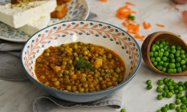 Συνταγή για σπιτικό λαδερό μαμαδίστικο αρακά