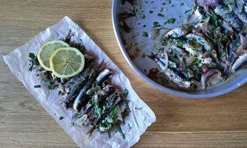 Συνταγή για σαρδέλες φούρνου με λαδορίγανη