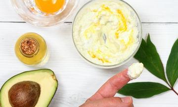 Μάσκα ομορφιάς με αβοκάντο και αβγό - Φτιάξτε τη κι εσείς (vid)