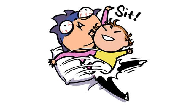 Πώς είναι η ζωή με ένα 2χρονο παιδί; Μια μαμά απαντά μέσα από σκίτσα (pics)