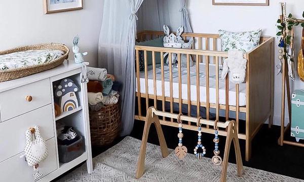 Διακοσμητικά για το βρεφικό δωμάτιο: Είκοσι όμορφες και απλές ιδέες (pics)
