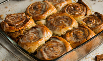 Cinnamon rolls - Μια συνταγή για να απολαύσετε τον απογευματινό μαμαδίστικο καφέ σας