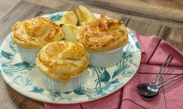 Πενεύκολες ατομικές μηλόπιτες με 5 υλικά - Εσείς, ακόμη να τις φτιάξετε;