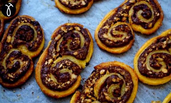 Συνταγή με 5 υλικά για να φτιάξετε κι εσείς μπισκότα Παλμιέ στο σπίτι
