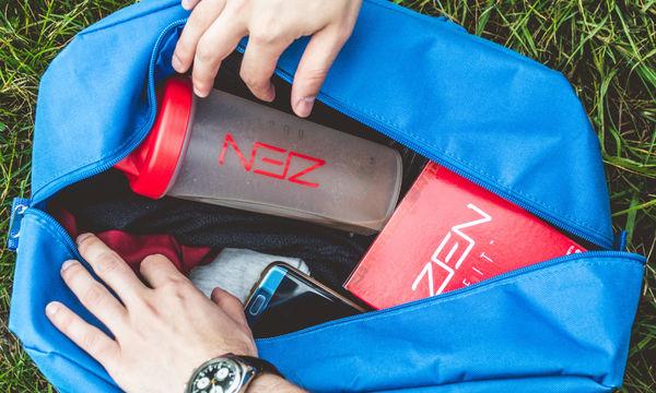 Έχεις προπόνηση;  Να τι πρέπει να έχεις οπωσδήποτε μέσα στον αθλητική τσάντα σου!