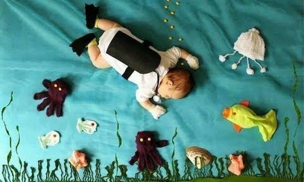 Φωτογραφίστε το μωρό σας με ένα διαφορετικό και πρωτότυπο τρόπο (vid)
