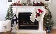 Χριστουγεννιάτικη διακόσμηση: Ιδέες για διακοσμήσετε το τζάκι σας (pics)