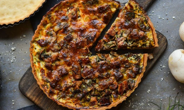Τάρτα με γεύση καρμπονάρα -  Μια συνταγή που πρέπει να φτιάξετε