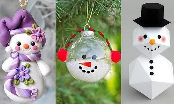 Δεκαπέντε εντυπωσιακά χριστουγεννιάτικα στολίδια που μπορείτε να φτιάξετε μόνοι σας (vid)