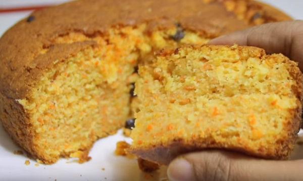 Κέικ με καρότο έχετε φτιάξει; Για δοκιμάστε αυτή τη συνταγή (vid)