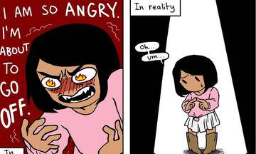 Αποτυπώνει με χιούμορ τις γυναικείες ανησυχίες και το διαδίκτυο τη λάτρεψε (pics)