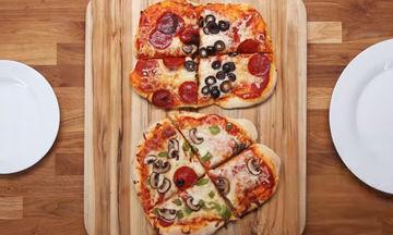 Η πιο γευστική πίτσα για παιδιά - Φτιάξτε την μαζί τους! (vid)