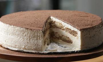 Λαχταριστό cheesecake τιραμισού χωρίς αυγά (vid)