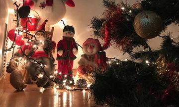 Ακόμη μία Ελληνίδα παρουσιάστρια στόλισε το Χριστουγεννιάτικο δεντράκι της (pics)