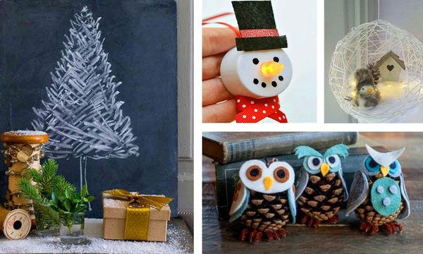 DIY: Αυτές οι χριστουγεννιάτικες κατασκευές θα σας συναρπάσουν (vid)