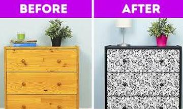 Είκοσι δύο ιδέες για να μεταμορφώσετε παλιά έπιπλα και αντικείμενα του σπιτιού σας (vid)