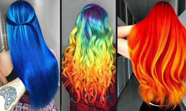Θέλησαν να κάνουν μια εντυπωσιακή αλλαγή στο χρώμα των μαλλιών τους και το πέτυχαν (vid)