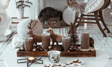 Είκοσι μοντέρνοι τρόποι διακόσμησης για τα Χριστούγεννα (pics)