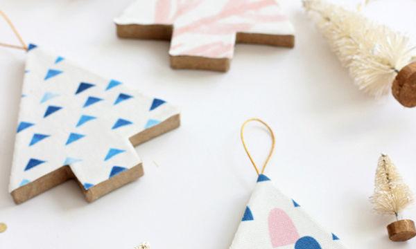 DIY Χριστουγεννιάτικα στολίδια για να φτιάξεις με τα παιδιά σου