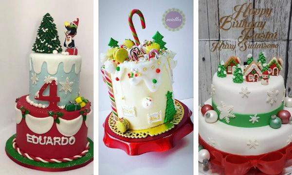 Είκοσι χριστουγεννιάτικες τούρτες γενεθλίων πραγματικά ξεχωριστές (pics)