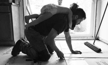 Ποιος είπε πως οι μπαμπάδες δεν κάνουν δουλειές του σπιτιού;  (pics)