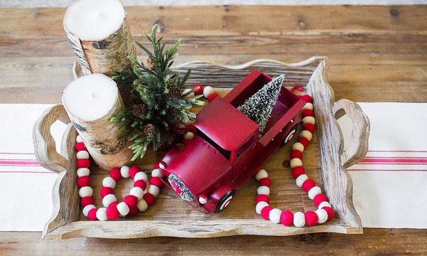 Ιδέες για να διακοσμήσετε υπέροχους χριστουγεννιάτικους δίσκους (pics)