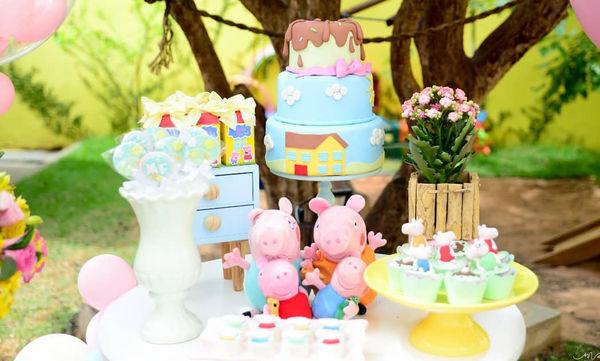 Πέππα το γουρουνάκι: Ιδέες για παιδικό πάρτι (pics)