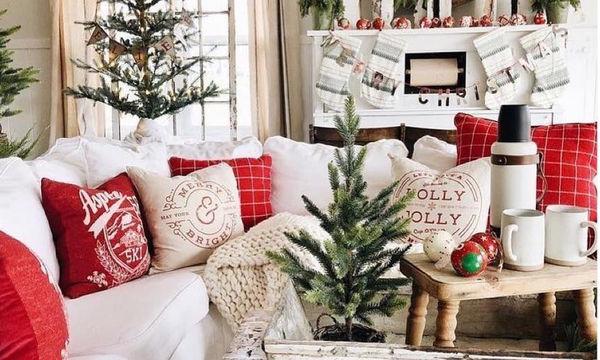 Χριστουγεννιάτικη διακόσμηση: Όλα όσα θα χρειαστείτε για να στολίσετε όμορφα το σπίτι σας (pics)