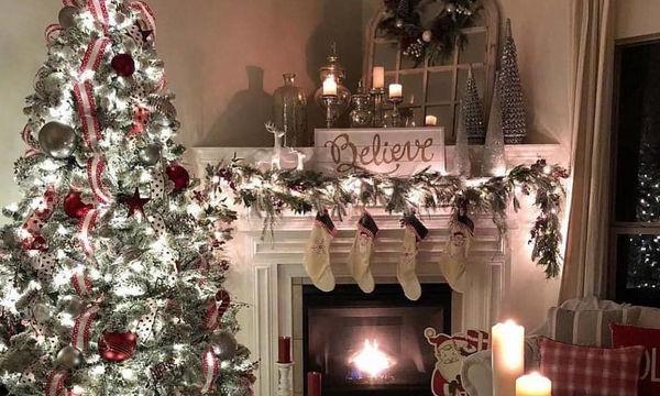 Στολισμένα χριστουγεννιάτικα δέντρα για κάθε γούστο (pics)