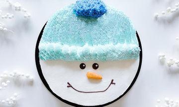 Τούρτα χιονάνθρωπος: ιδέες για τα παιδικά γενέθλια του χειμώνα (pics)