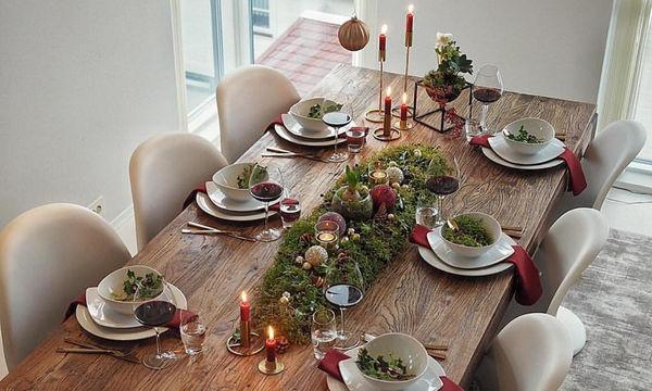 Δεκαπέντε χριστουγεννιάτικες ιδέες για να διακοσμήσετε την τραπεζαρία σας (pics)