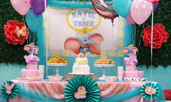 Παιδικό πάρτι με θέμα τον γλυκούλη Ντάμπο, το ελεφαντάκι (pics)