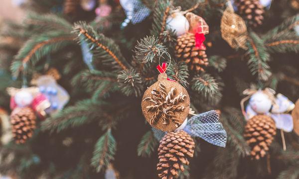 Χριστουγεννιάτικες κατασκευές με κουκουνάρια - Δείτε τι μπορείτε να φτιάξετε (vid)