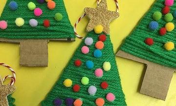Χριστουγεννιάτικες κατασκευές που μπορείτε να φτιάξετε με τα παιδιά σας (pics)