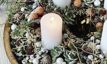 Χριστουγεννιάτικη διακόσμηση με κεριά: 25 μοναδικές ιδέες για το σπίτι σας (pics)