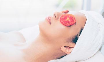 Μάσκα προσώπου από  ντομάτα (pics)
