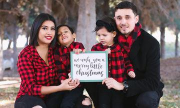 Οικογένειες από όλο τον κόσμο εύχονται «Καλά Χριστούγεννα» σε όλες τις γλώσσες! (pics)