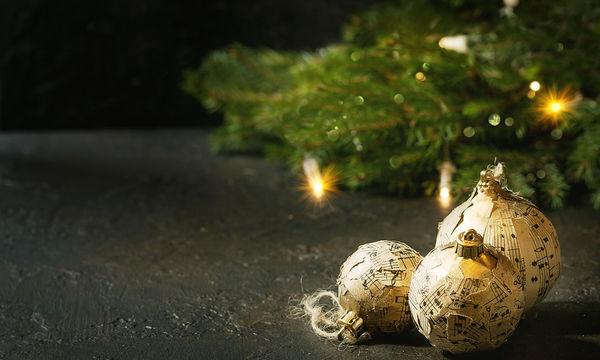 Εντυπωσιακές χριστουγεννιάτικες μπάλες από χαρτί - Πώς θα τις φτιάξετε (pics)
