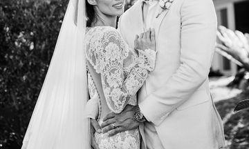 Παντρεύτηκαν πριν μερικές μέρες και αυτό είναι το φωτογραφικό  άλμπουμ του γάμου τους (pics)