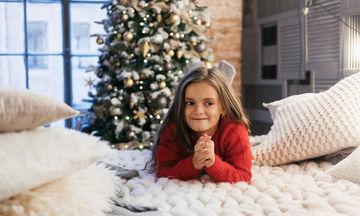 Αυτό το χριστουγεννιάτικο πουλόβερ για κορίτσια είναι ξεχωριστό