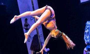 H Λυδία Κανελλοπούλου είναι 13 ετών, είναι πρωταθλήτρια στο Pole Dance και μας εμπνέει