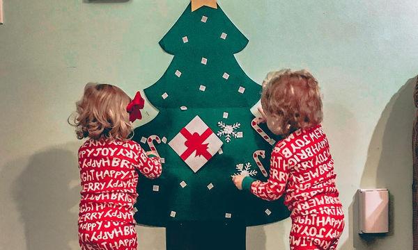 Φτιάξτε το δικό σας υπέροχο χριστουγεννιάτικο δέντρο βήμα - βήμα (pics+vid)