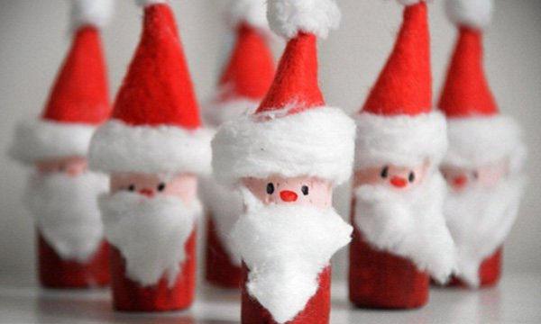 Φτιάξτε απίθανες χριστουγεννιάτικες κατασκευές & διακοσμητικά για το σπίτι με τα παιδιά σας! (pics)
