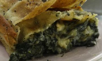 Σπανακόπιτα με φέτα - Μια συνταγή για το γιορτινό τραπέζι