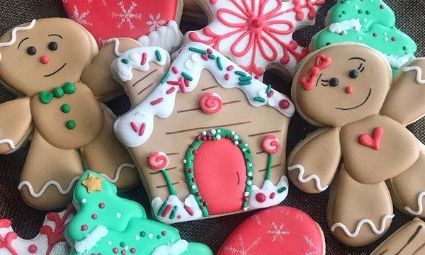 Ιδέες διακόσμησης χριστουγεννιάτικων μπισκότων για το παιδικό πάρτι (pics)