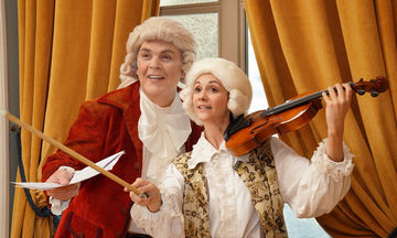 «Ο Μικρός Amadeus - Το παιδί θαύμα» στην παιδική σκηνή του Δημοτικού Θεάτρου Πειραιά