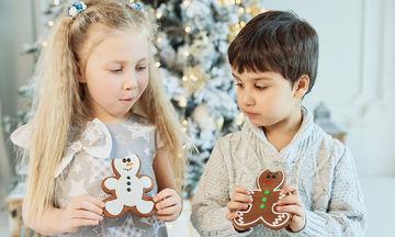 Χριστουγεννιάτικα γλυκίσματα και… περιττά κιλά: συμβουλές για παιδιά
