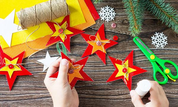 Είκοσι πέντε εύκολες και χαριτωμένες χριστουγεννιάτικες κατασκευές για παιδιά (vid)